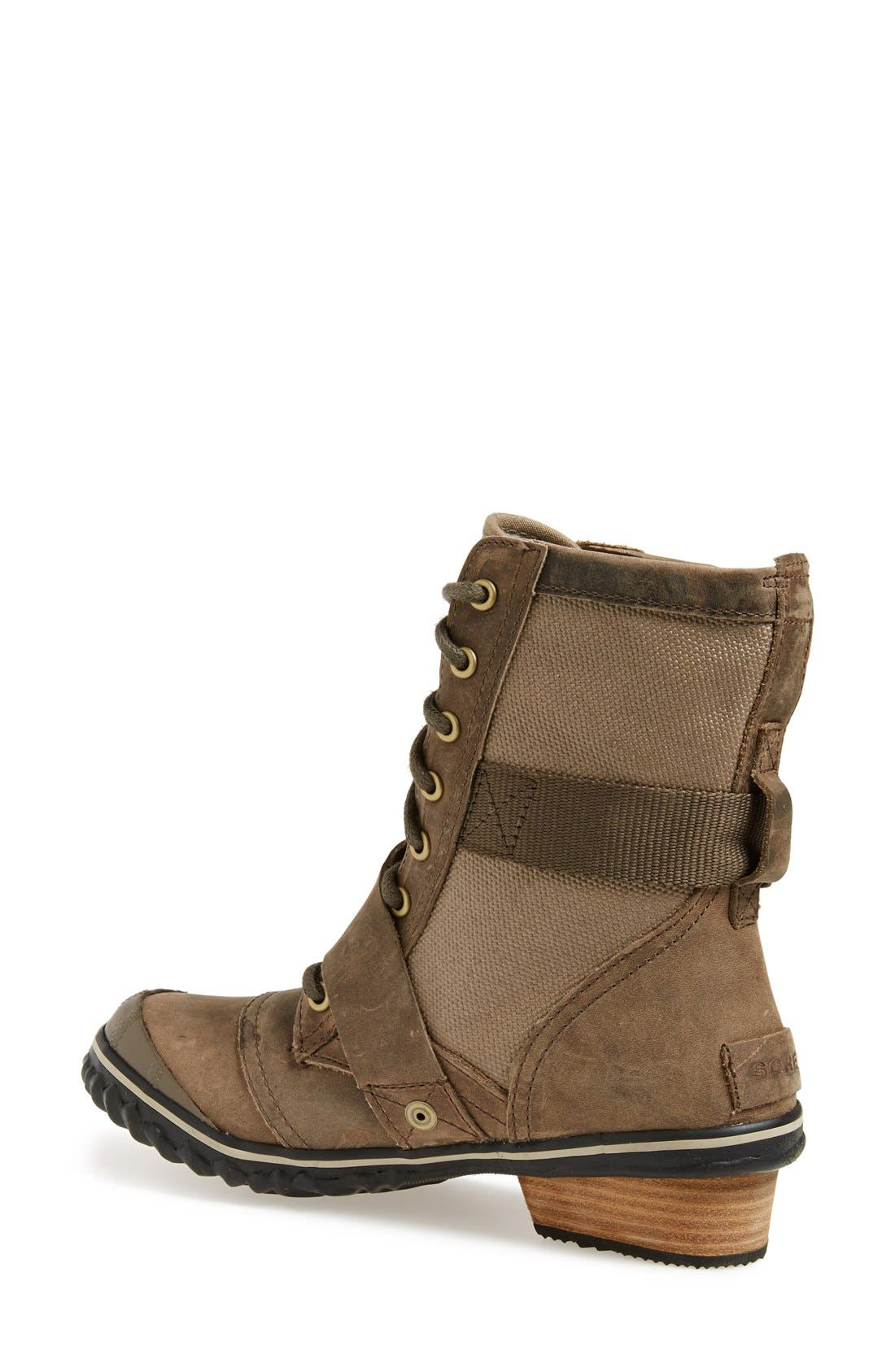 Alternate Image 2  - SOREL 'Slimboot™' Waterproof Lace-Up Boot (Women)