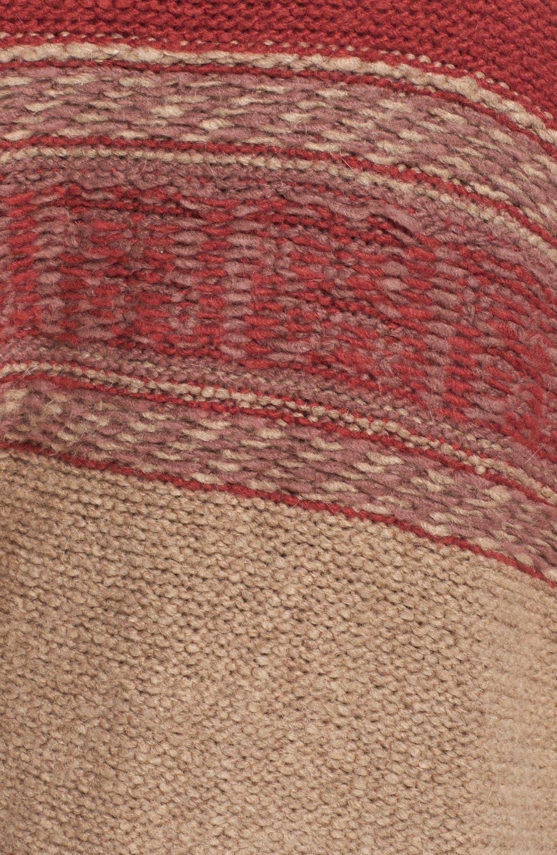 Alternate Image 4  - Free People 'Labyrinth' Stripe Colorblock Poncho
