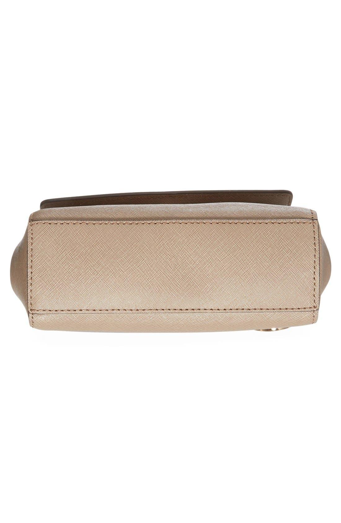 Alternate Image 6  - MICHAEL Michael Kors 'Extra Small Ava' Leather Crossbody Bag
