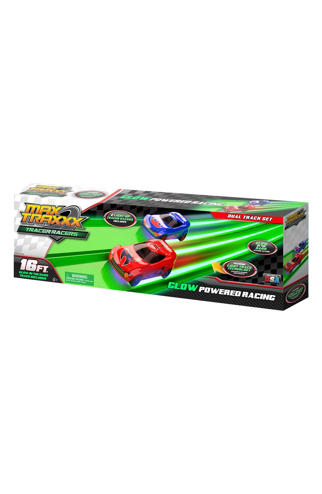 MAX TRAXXX Tracers Racers Cars & Dual Track Set