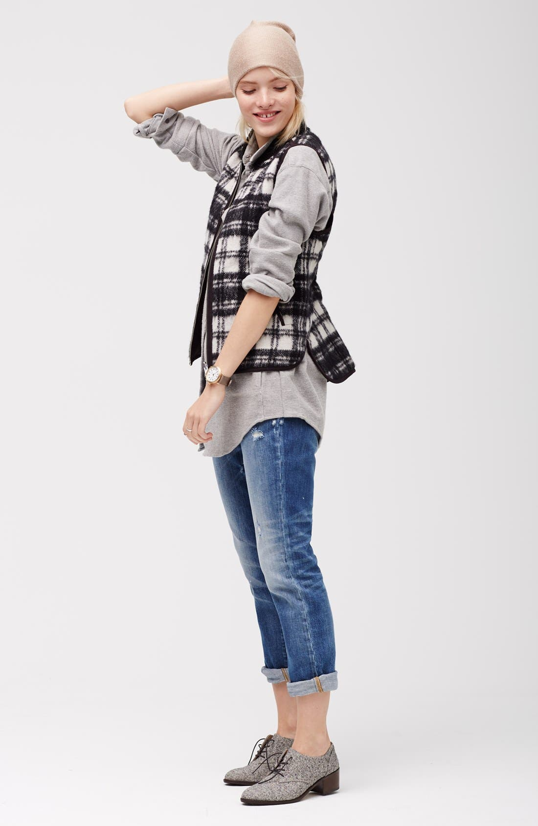 Alternate Image 6  - Madewell'Copeland Plaid' Reversible Vest