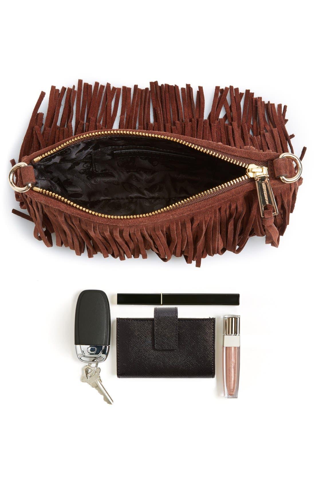 Alternate Image 7  - Rebecca Minkoff 'Finn' Convertible Leather Clutch