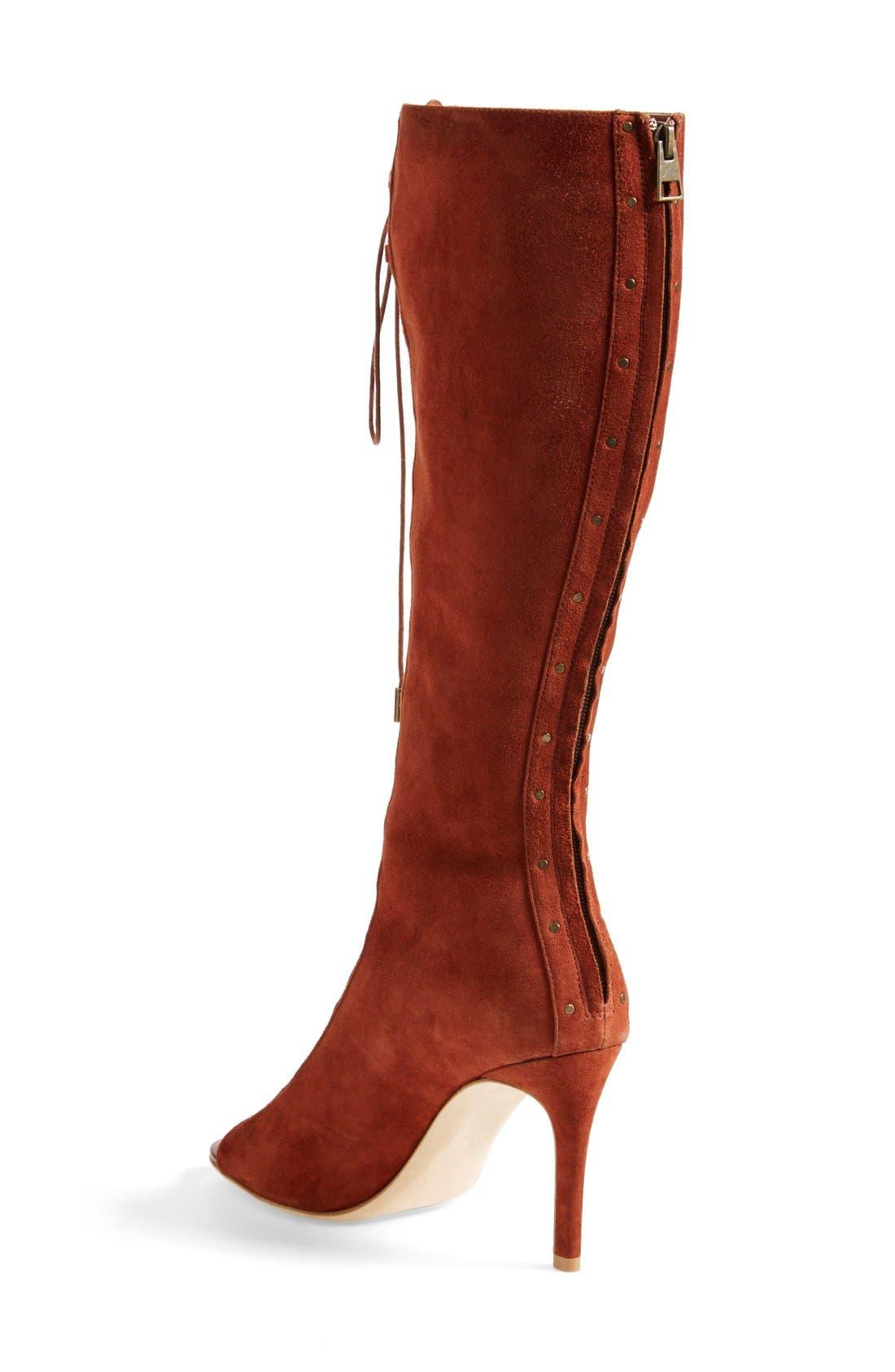Alternate Image 2  - Joie 'Aubrey' Lace-Up Tall Boot (Women)