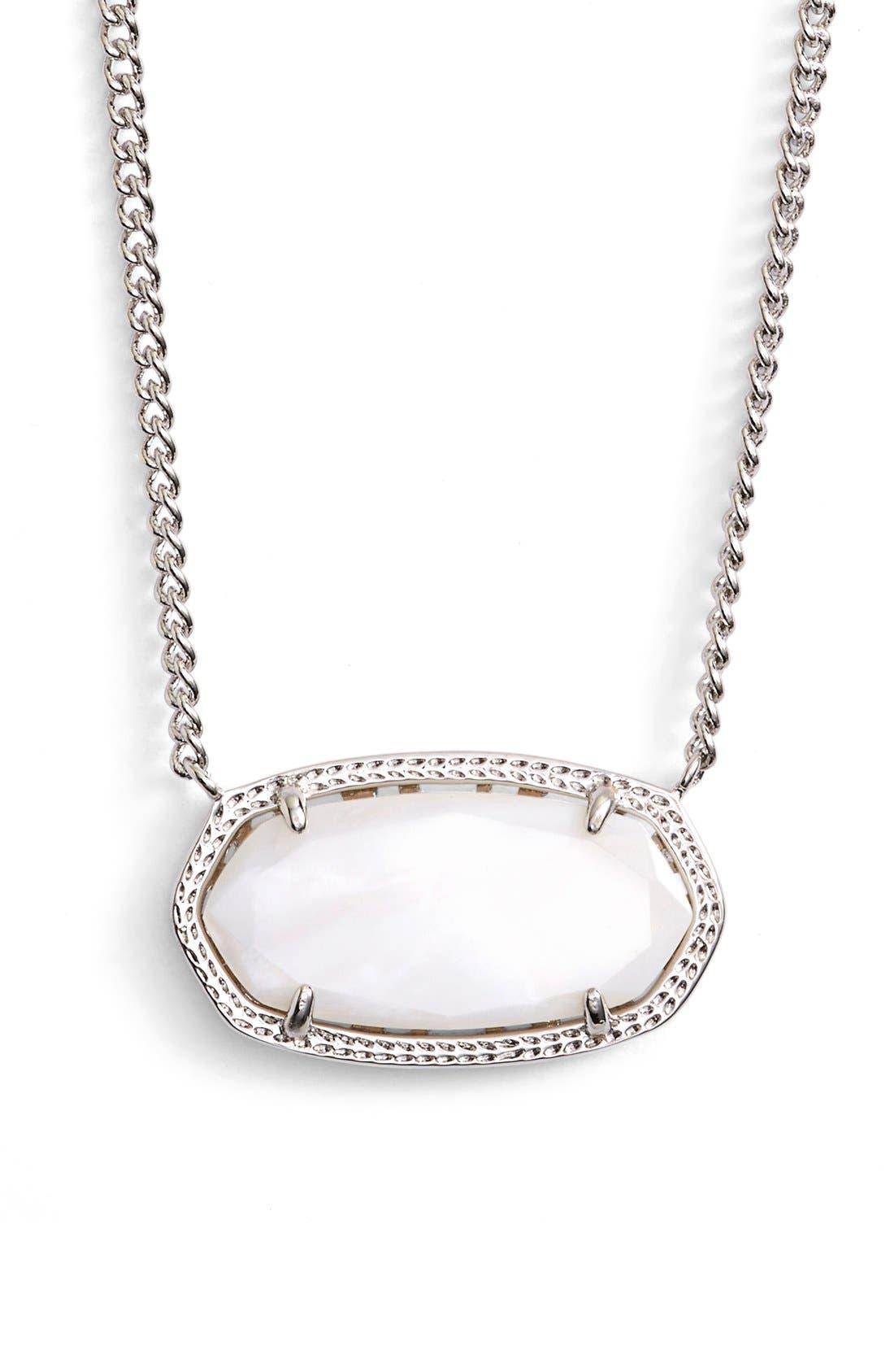 Main Image - Kendra Scott 'Dylan' Stone Pendant Necklace