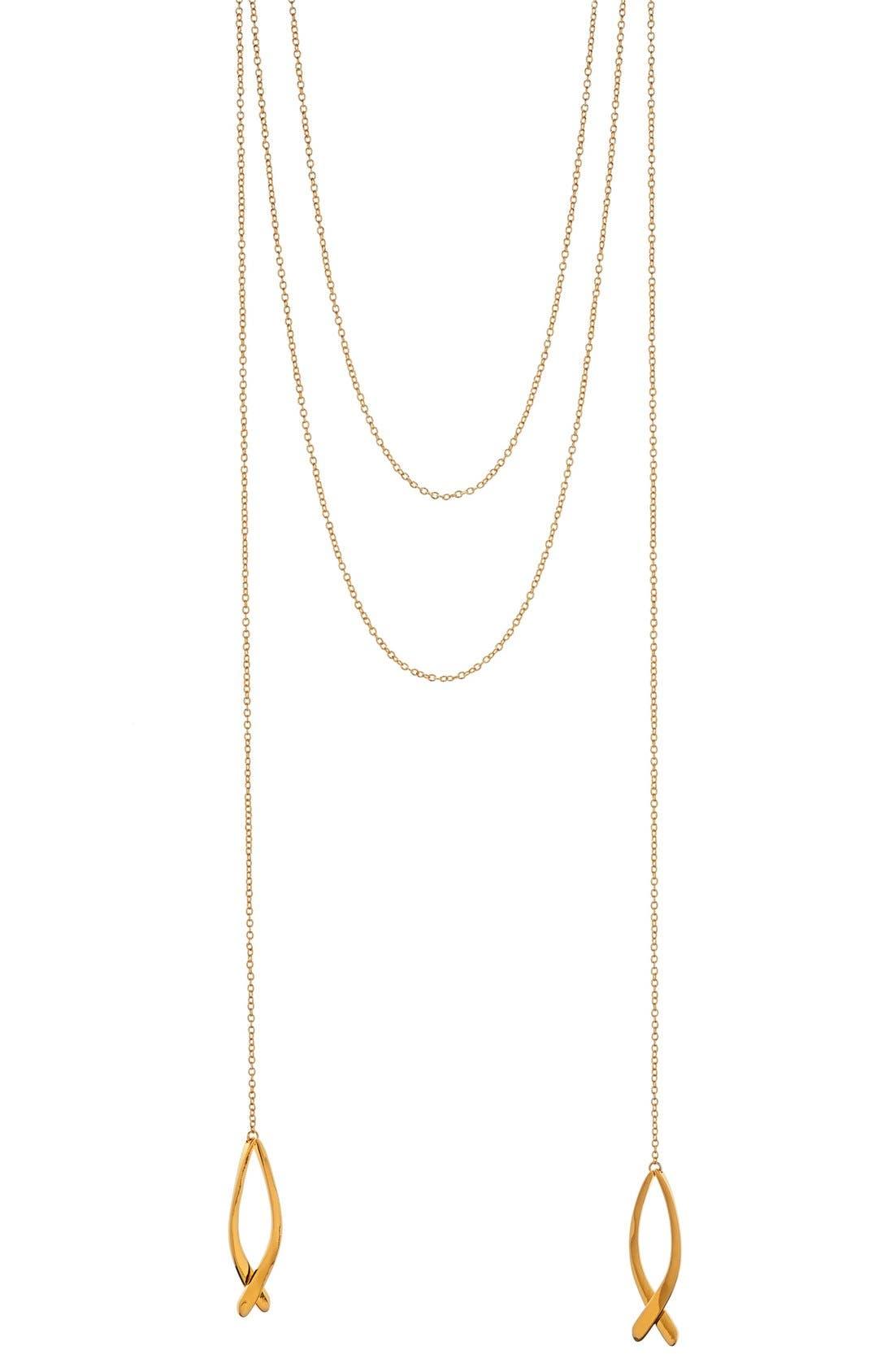 Main Image - gorjana'Viola' Layered Pendant Necklace