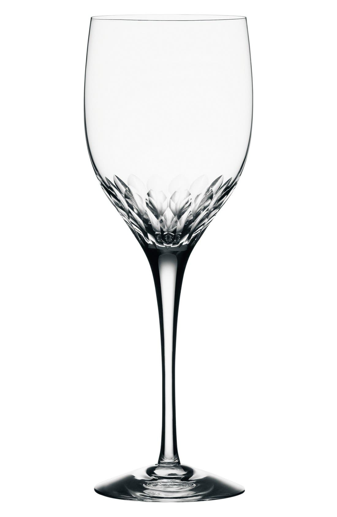 Orrefors 'Prelude' Crystal Claret Glass