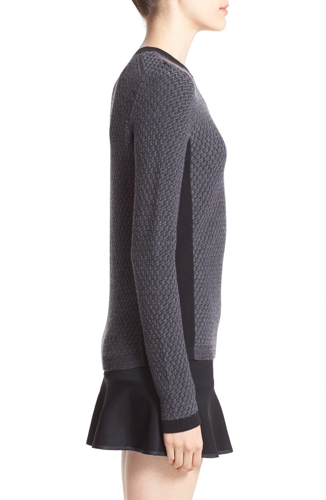 Alternate Image 3  - rag & bone 'Jaime' CrewneckSweater (Nordstrom Exclusive)