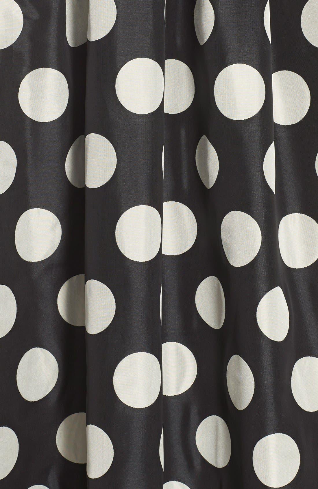 Alternate Image 6  - Eliza J Polka Dot Woven Ball Skirt
