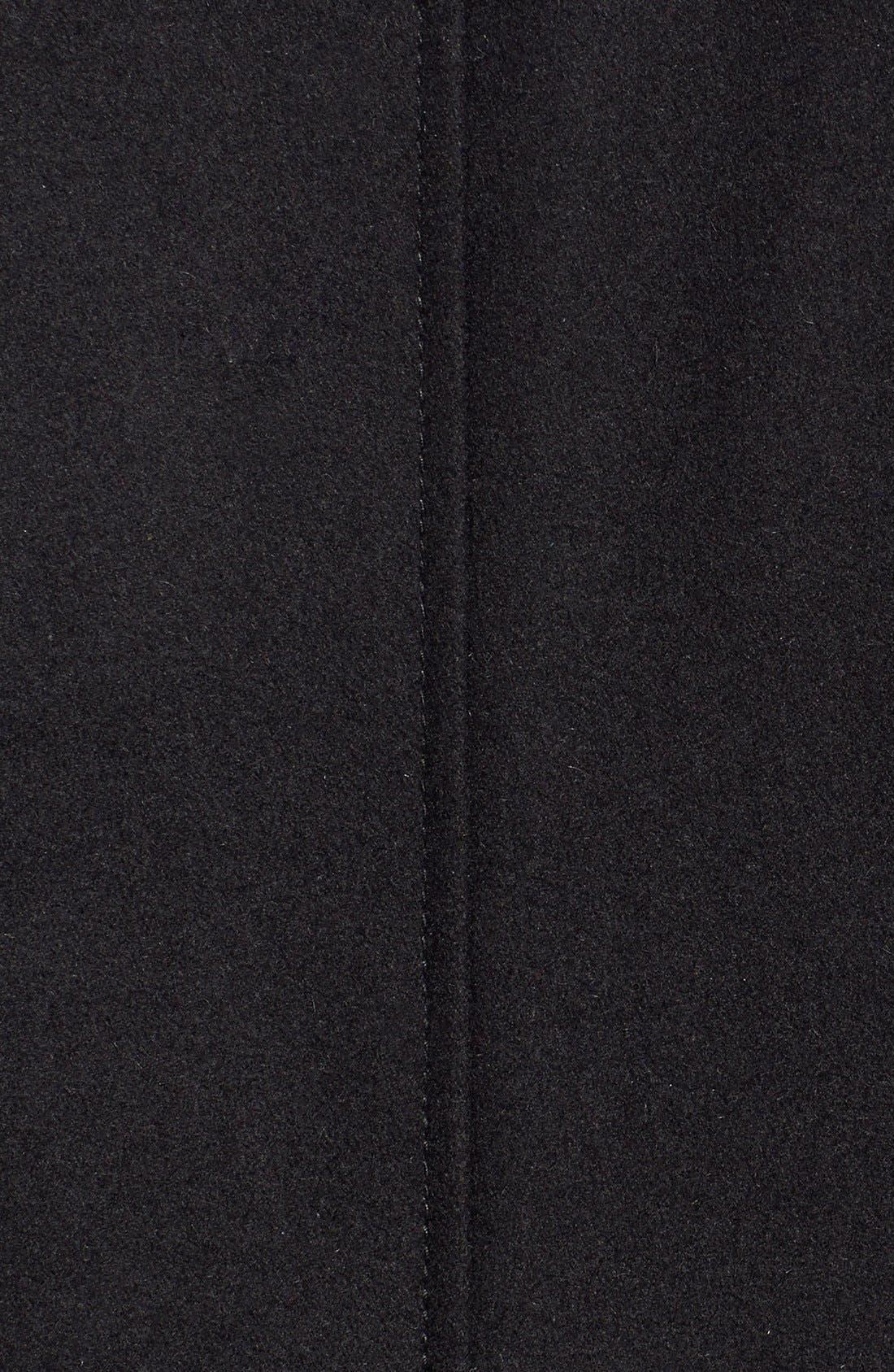 Alternate Image 4  - Black Rivet Single Breasted Hooded Coat