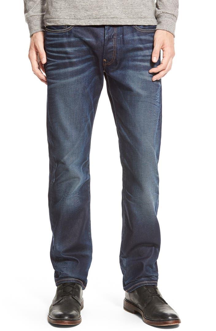 g star raw 39 3301 39 straight leg jeans dark aged nordstrom. Black Bedroom Furniture Sets. Home Design Ideas