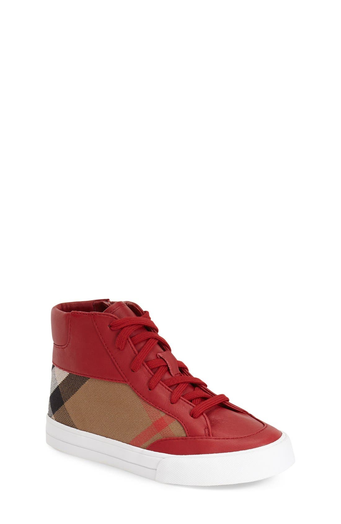 BURBERRY Mini Haypark High Top Sneaker