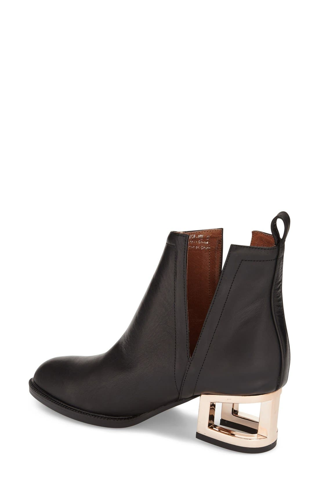 Alternate Image 2  - Jeffrey Campbell 'Musk' Cage Heel Ankle Boot (Women)