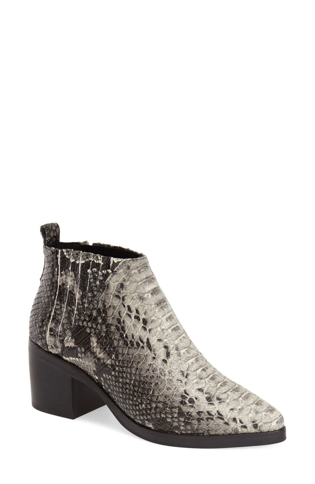 Alternate Image 1 Selected - Jeffrey Campbell 'Weber' Ankle Boot (Women)