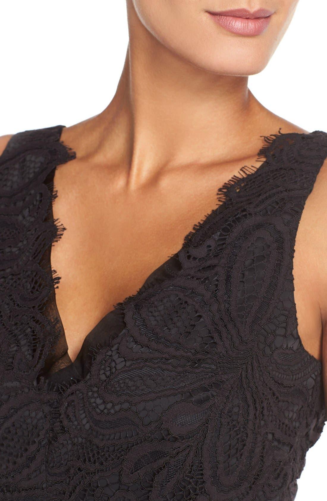Alternate Image 3  - Trina Turk 'Agni' Lace Sheath Dress