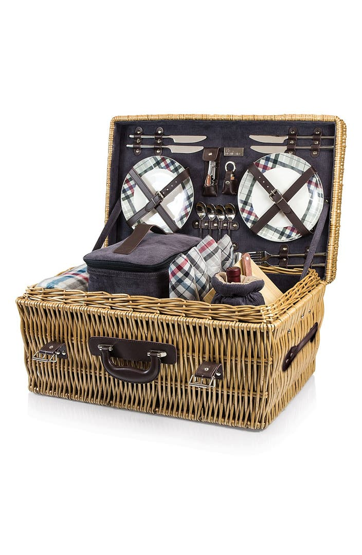 Myer Wicker Picnic Basket : Picnic time carnaby street wicker basket nordstrom