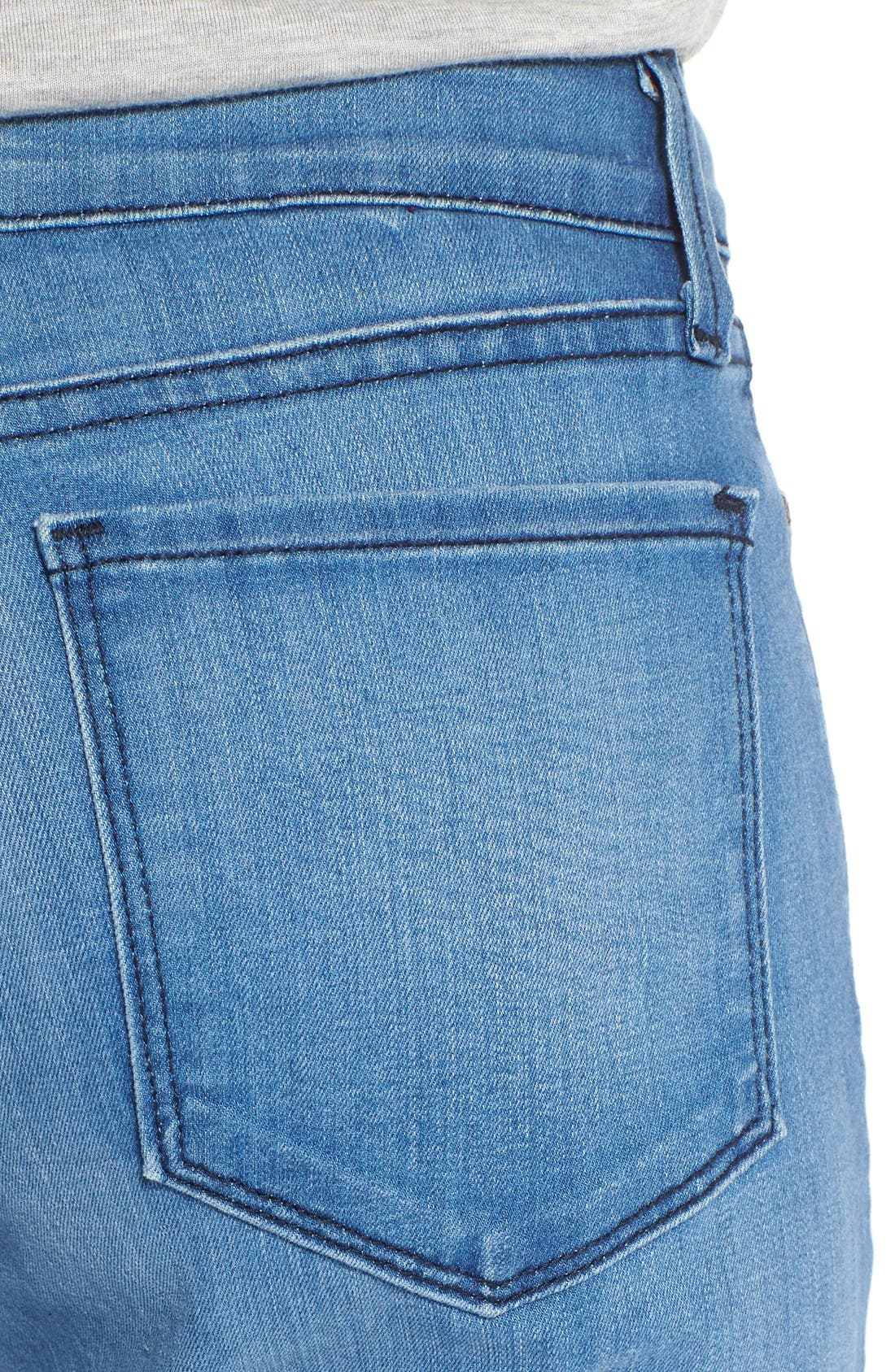 Alternate Image 4  - NYDJ 'Sheri' Stretch Skinny Jeans (Newberry)