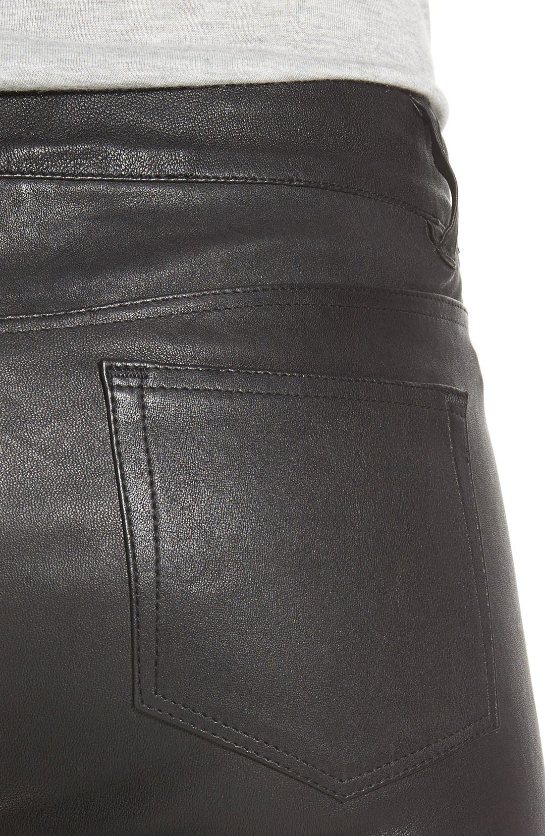 Alternate Image 4  - Paige Denim 'Verdugo' Leather Pants