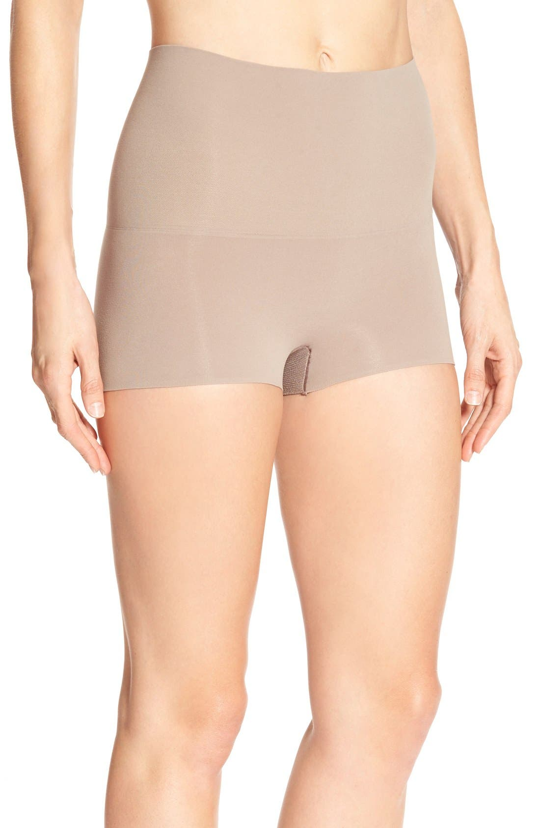 SPANX® 'Power - Shorty' Shaping Shorts (Regular & Plus Size)