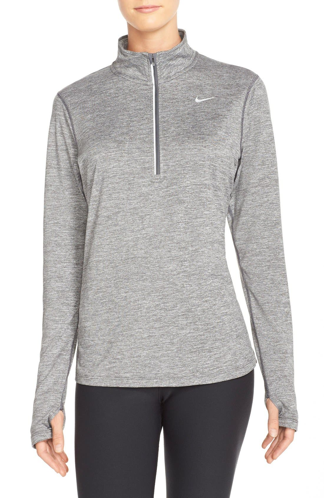 Nike 'Element' Dri-FIT Half Zip Performance Top