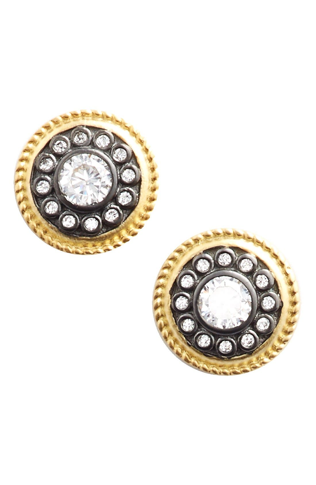 FREIDA ROTHMAN'Nautical Button' Stud Earrings