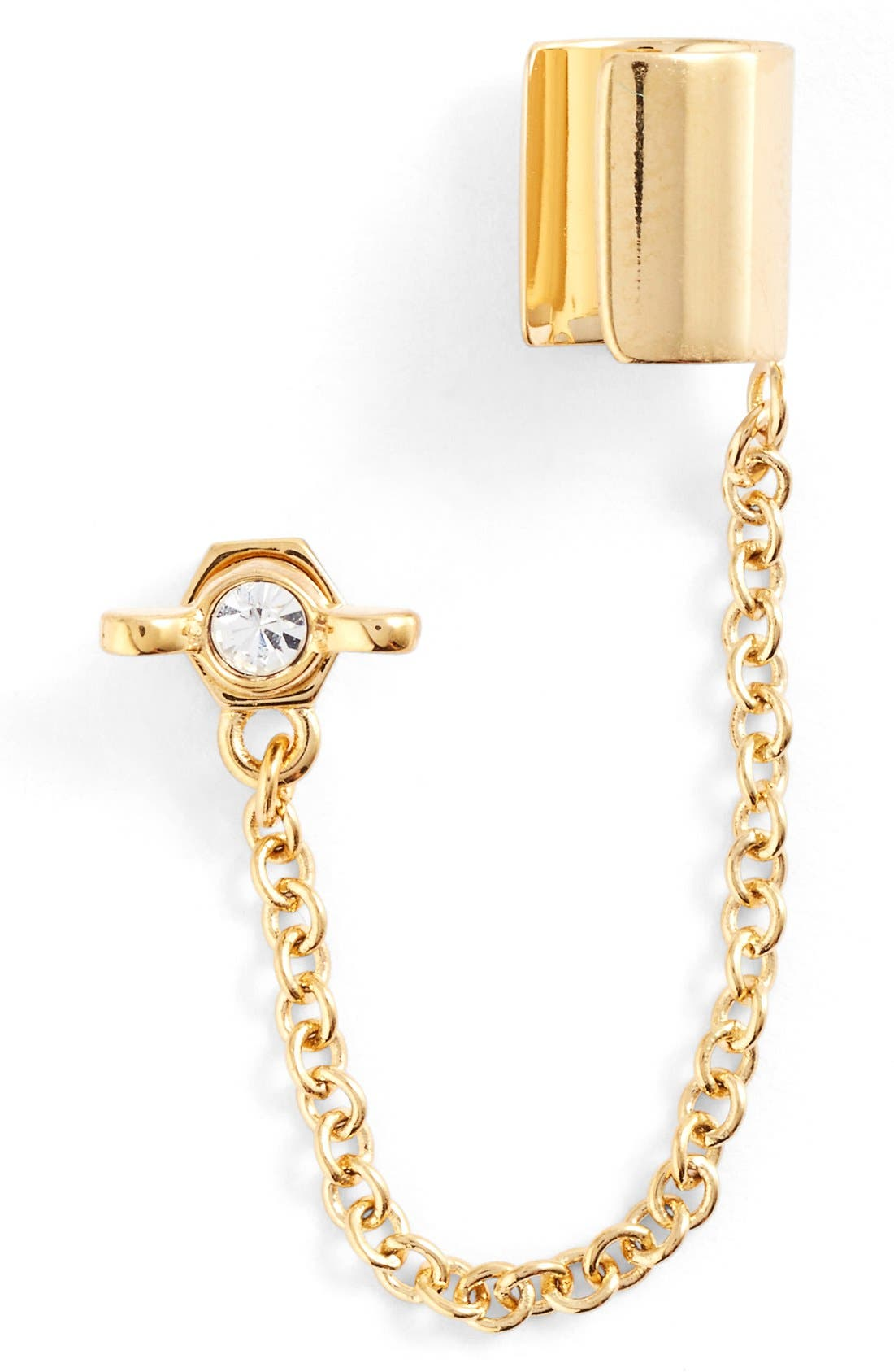Alternate Image 1 Selected - MARC BY MARC JACOBS 'Wingnut' Ear Chain