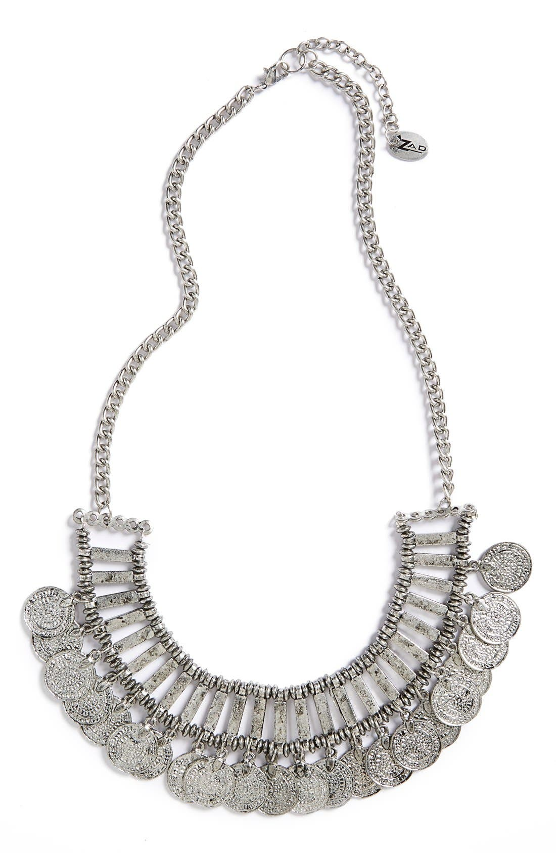 Alternate Image 1 Selected - Zad Coin Bib Necklace
