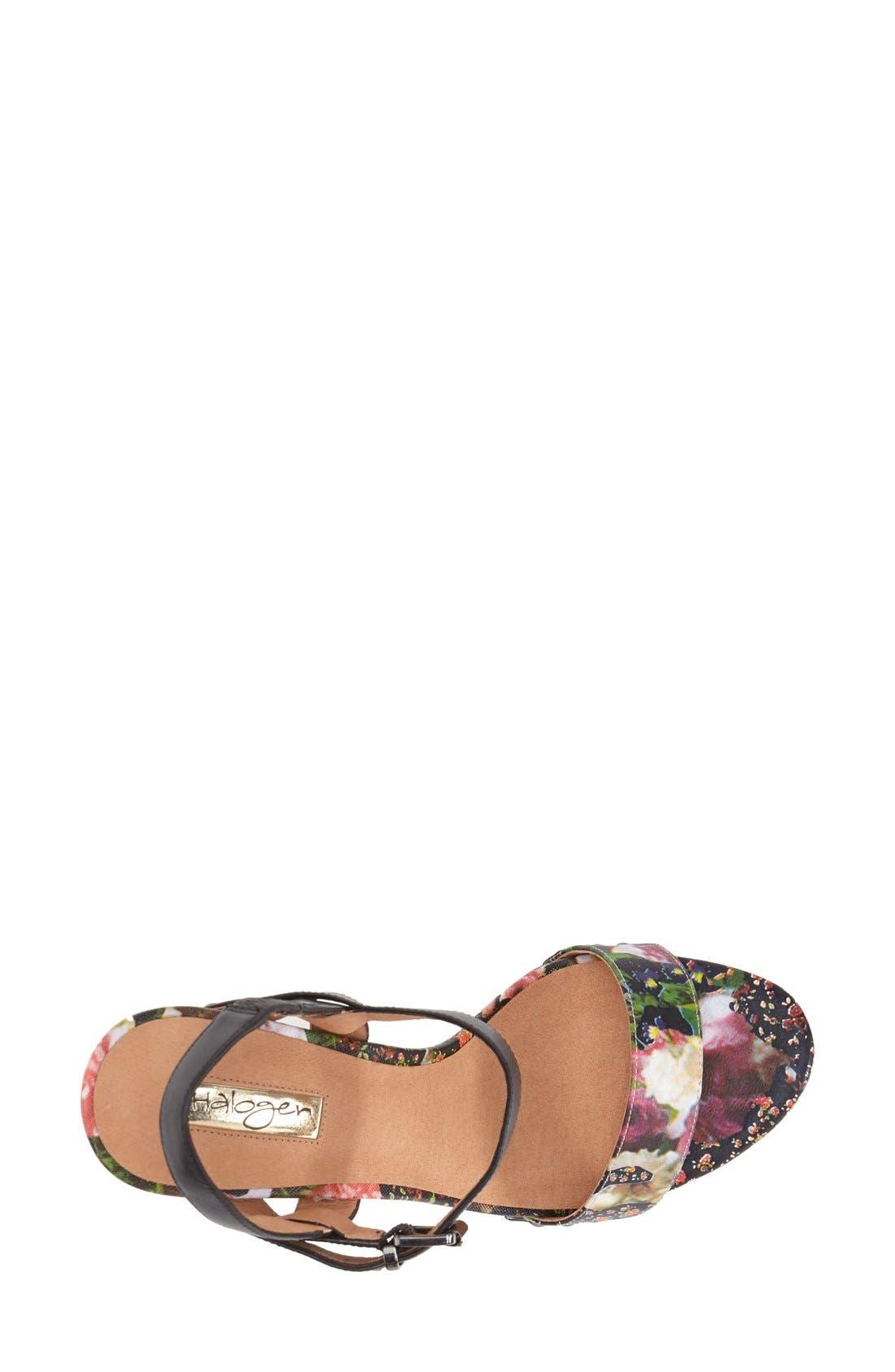 Alternate Image 3  - Halogen® 'Viv' Platform Sandal (Women)