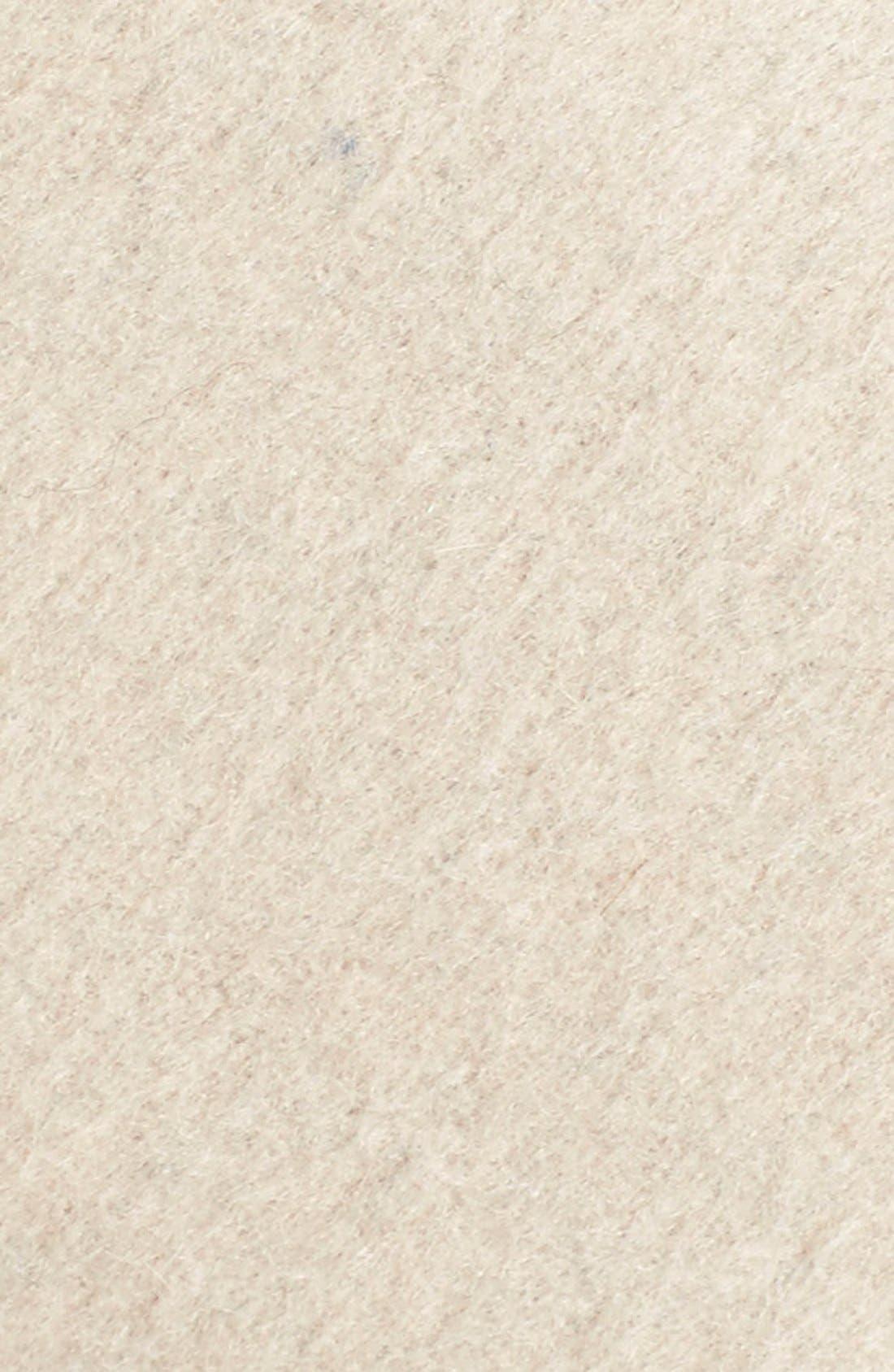 Alternate Image 5  - ElieTahari'Mala' Hooded Wool BlendWrap Coat