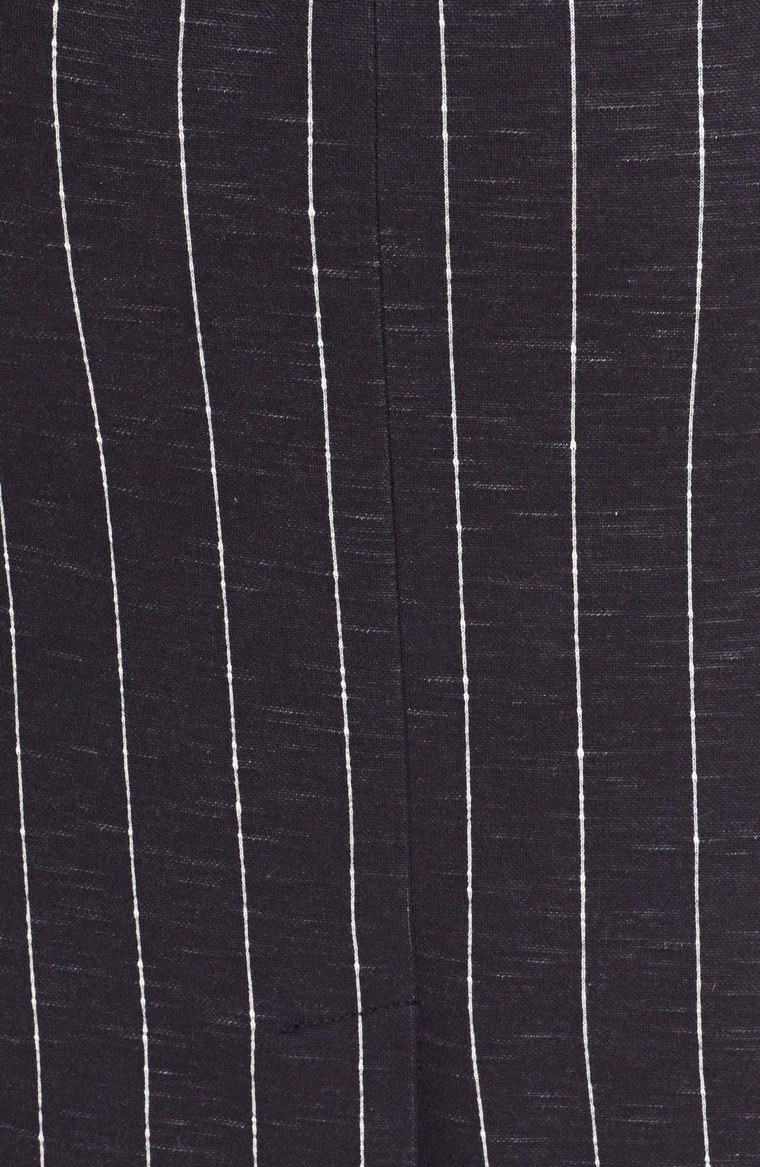 Alternate Image 5  - ATM Anthony Thomas Melillo Stripe Pencil Skirt