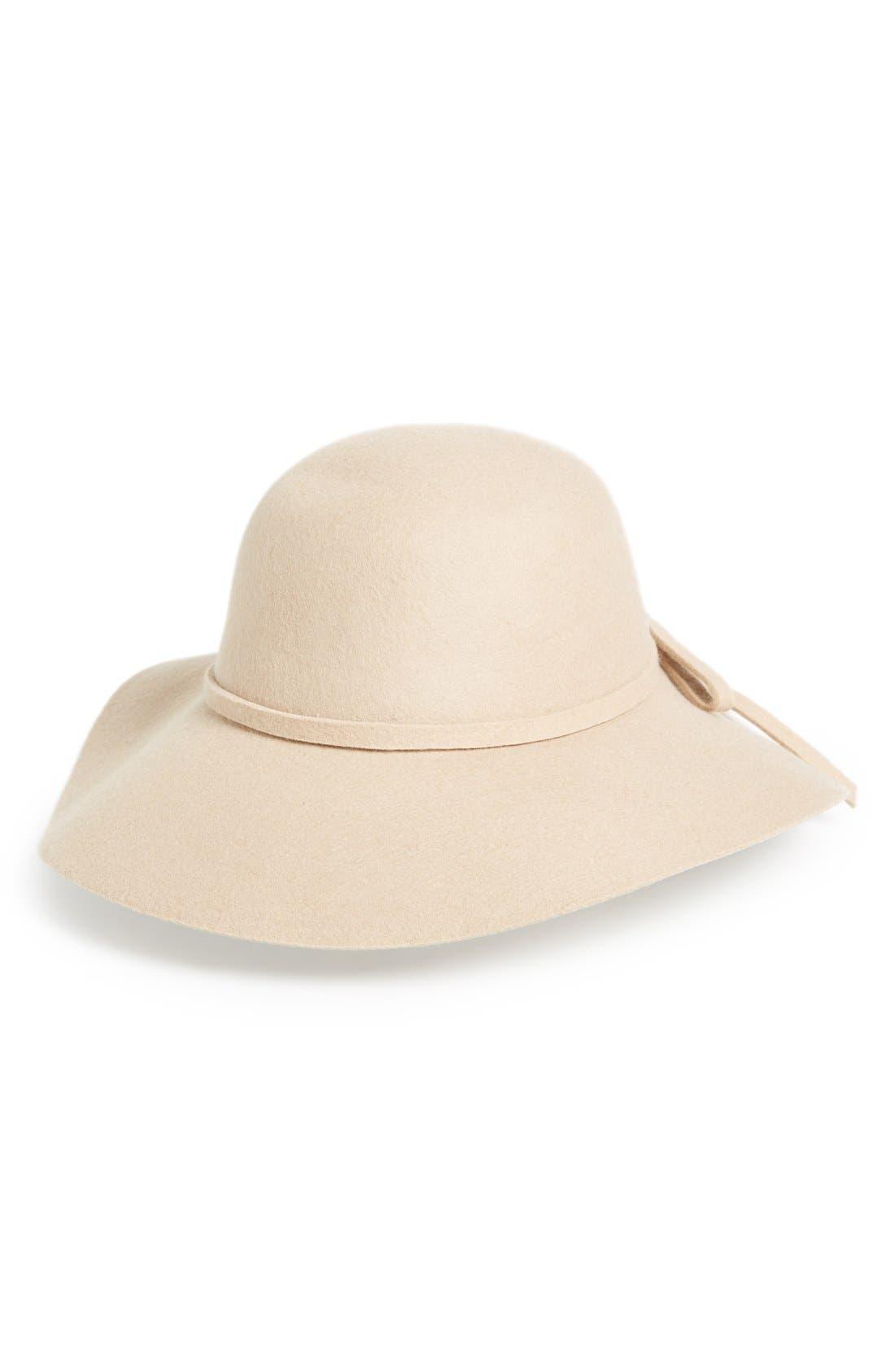 Alternate Image 1 Selected - Emanuel GeraldoWool Felt Floppy Hat