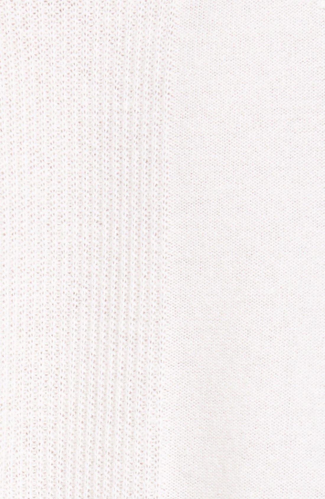 Alternate Image 5  - Nordstrom Collection V-Neck Cashmere Sweater