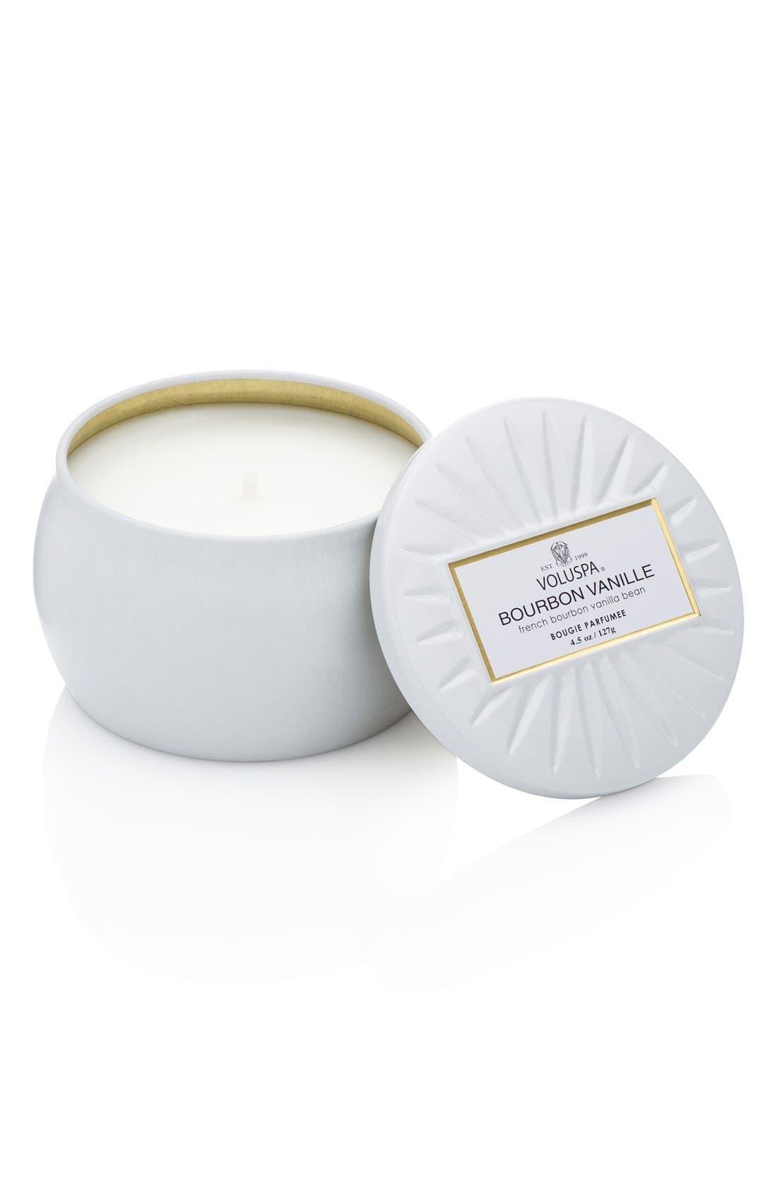 Voluspa 'Vermeil - French Bourbon Vanille' Mini Tin Candle