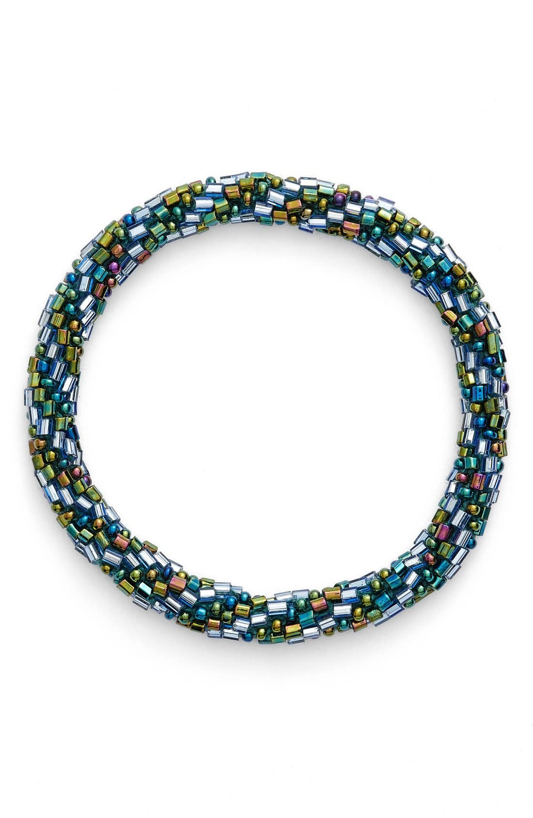 Alternate Image 1 Selected - Aid Through Trade Roll-On® Beaded Stretch Bracelet