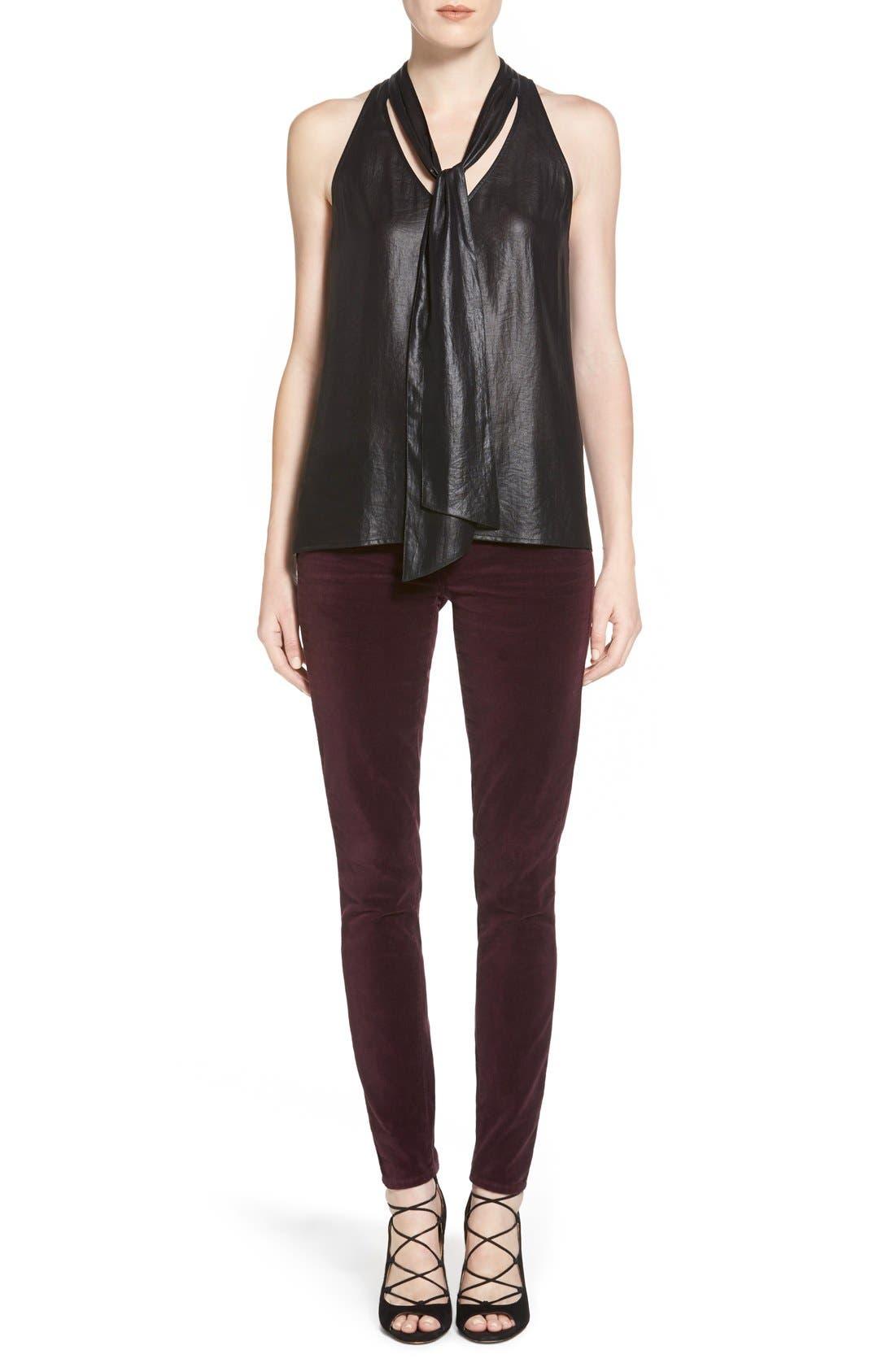 Alternate Image 2  - Paige Denim 'Verdugo' Velvet Ultra Skinny Jeans (Juliet)