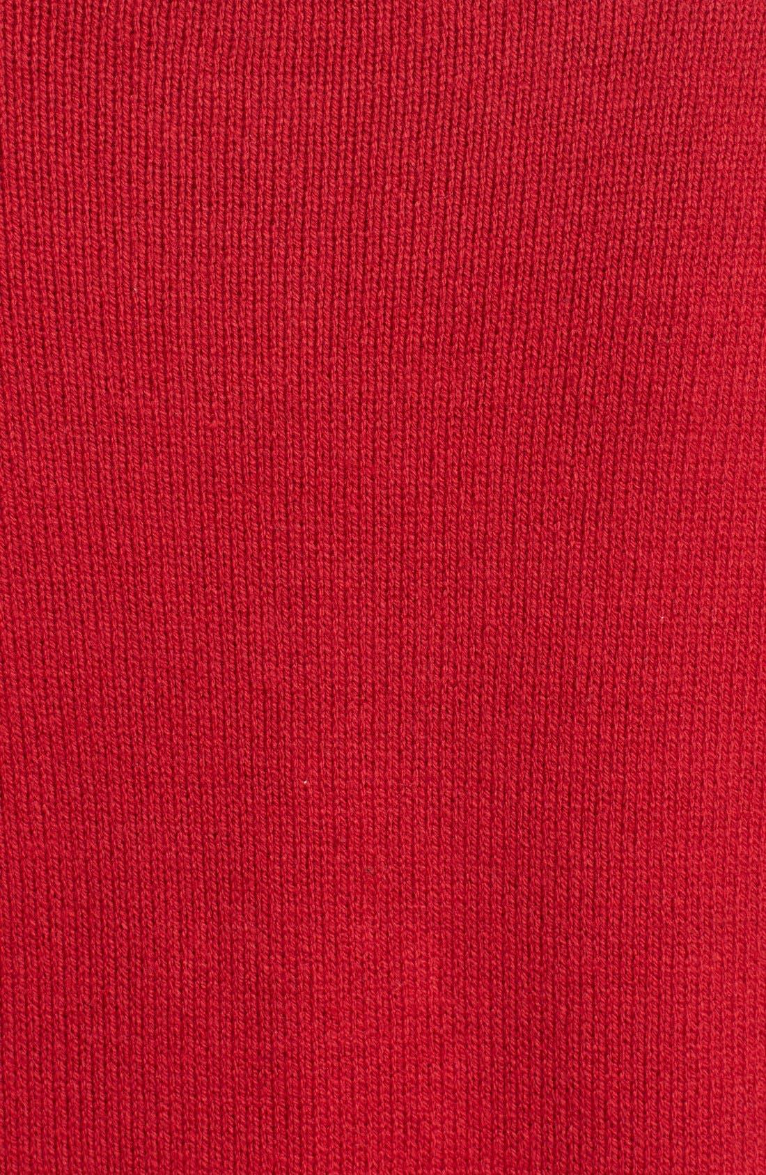 Alternate Image 5  - Ugly Christmas Sweater 'Penguin' Light-Up Fair Isle Knit Sweater