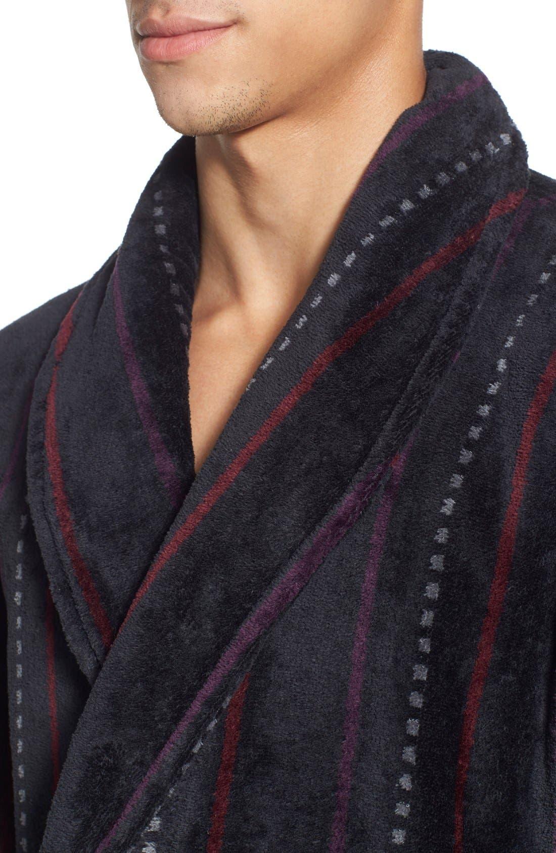 Alternate Image 4  - Nordstrom Men's Shop Terry Shawl Robe