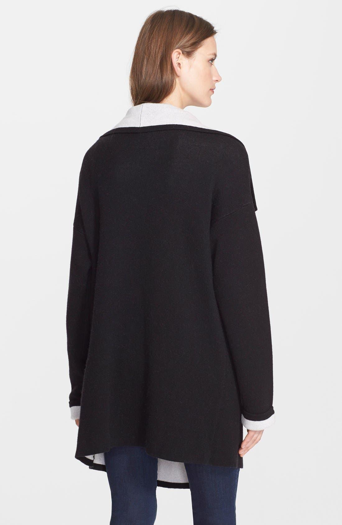 Alternate Image 2  - autumn cashmere Double Face Knit Coat