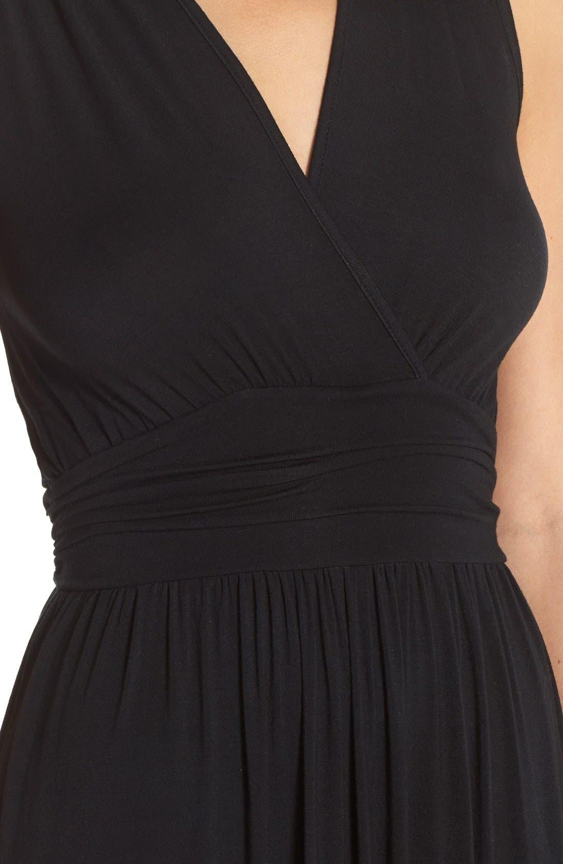 Alternate Image 4  - Fraiche by J Tie Dye Ombré Jersey Maxi Dress