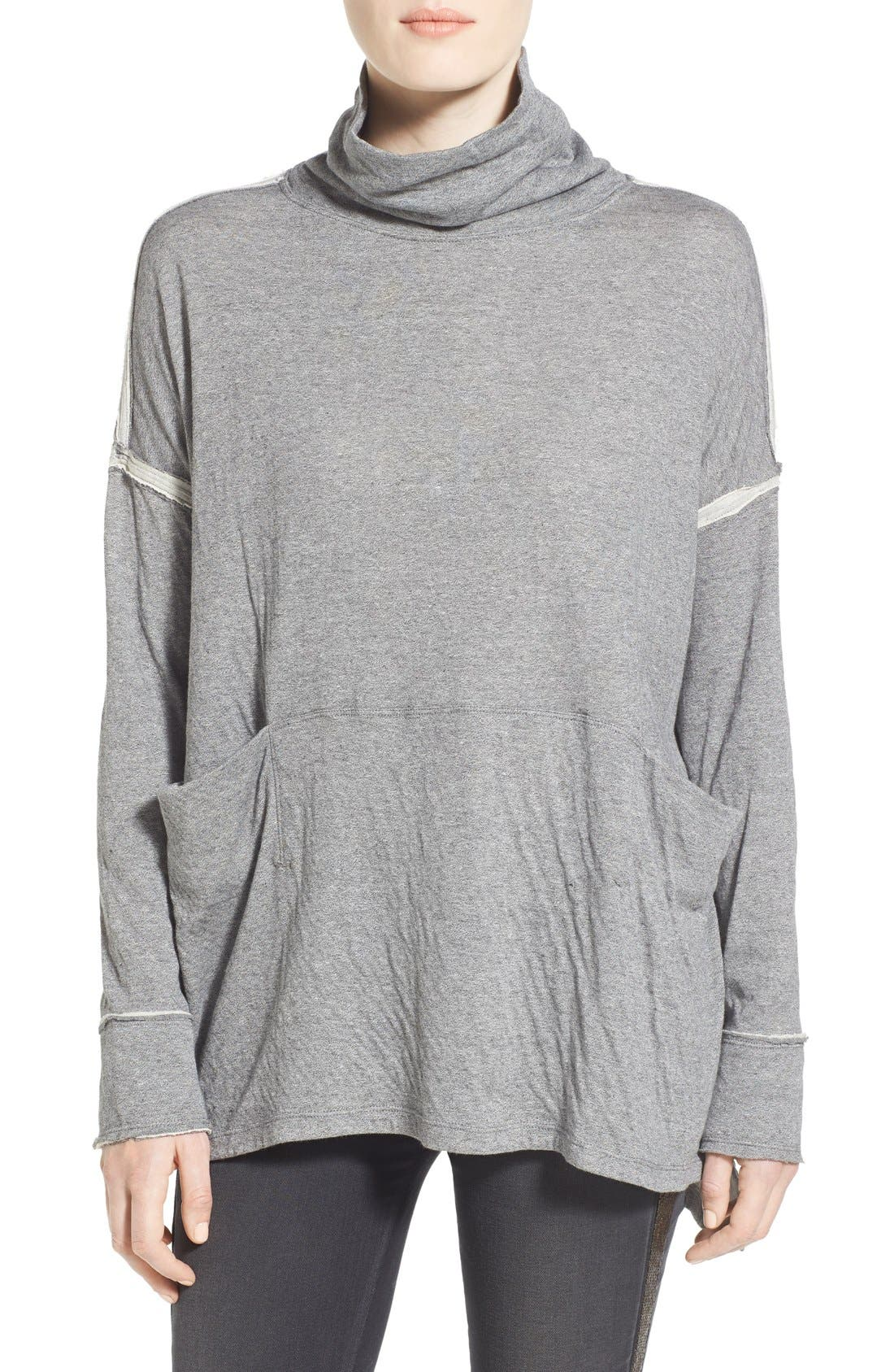 Alternate Image 1 Selected - Free People 'Long Flight' Pullover