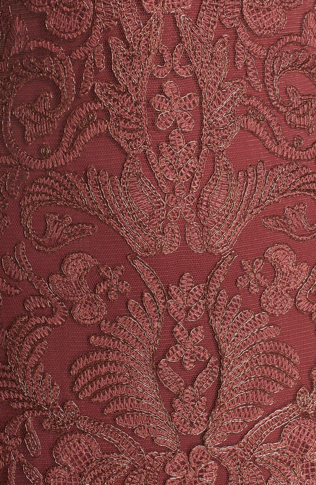 Alternate Image 5  - Tadashi Shoji Embroidered Tulle A-Line Dress