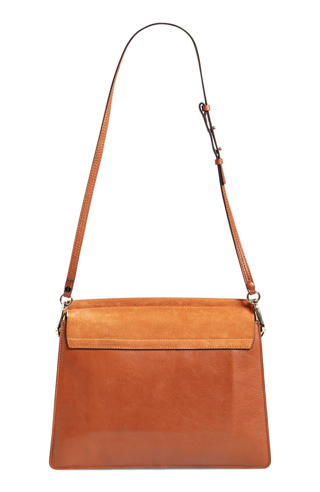 Alternate Image 2  - Chloé 'Faye' Leather & Suede Shoulder Bag