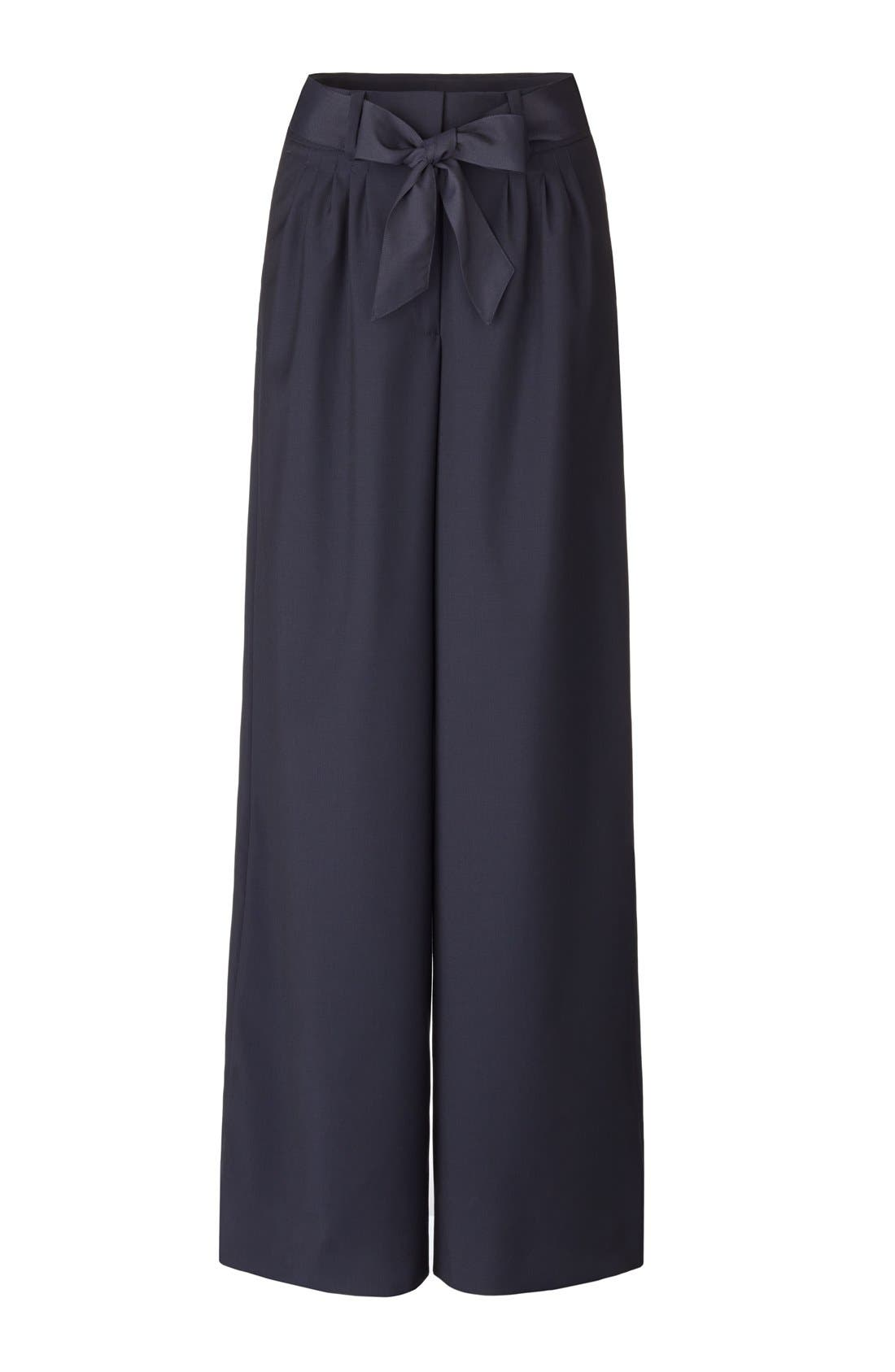 Alternate Image 8  - Olivia Palermo + Chelsea28 Pleat Front Trousers