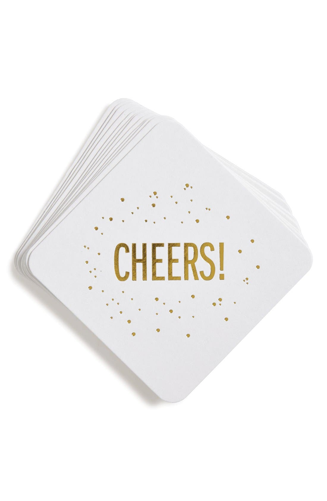 Alternate Image 1 Selected - The Pink Orange 'Cheers' Coasters (Set of 12)