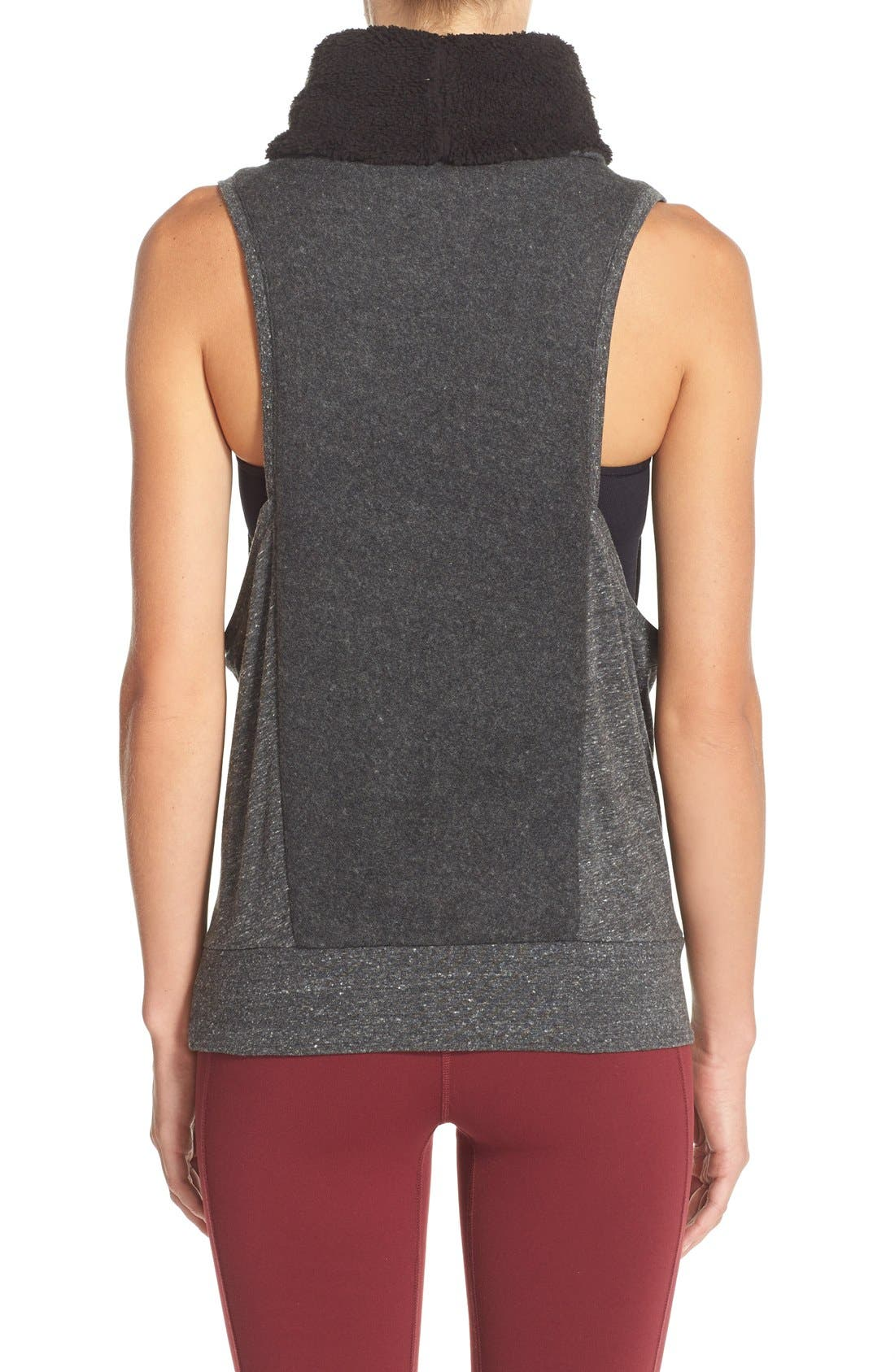 Alternate Image 2  - Alo 'Frost' Sleeveless Pullover