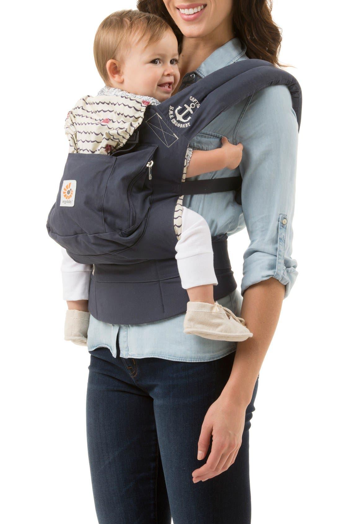 Alternate Image 4  - ERGObaby 'Original' Cotton Baby Carrier (Baby)