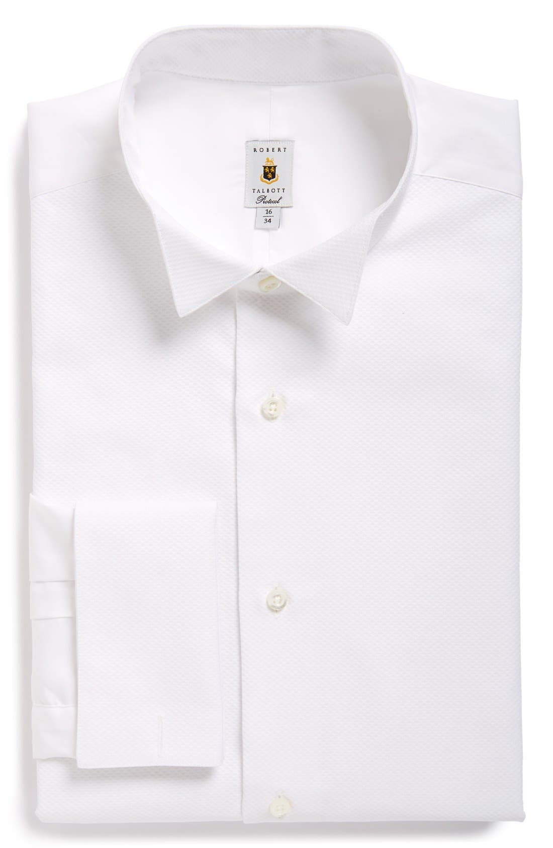 ROBERT TALBOTT Bib Front Tuxedo Shirt