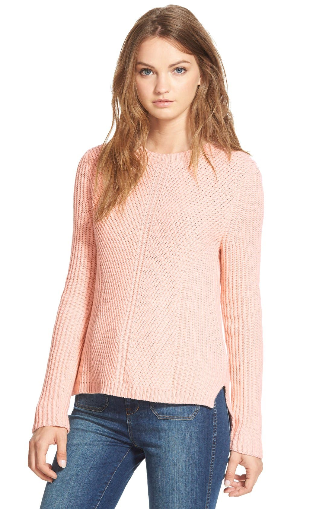 Alternate Image 1 Selected - Madewell 'Holcomb' Texture Sweater