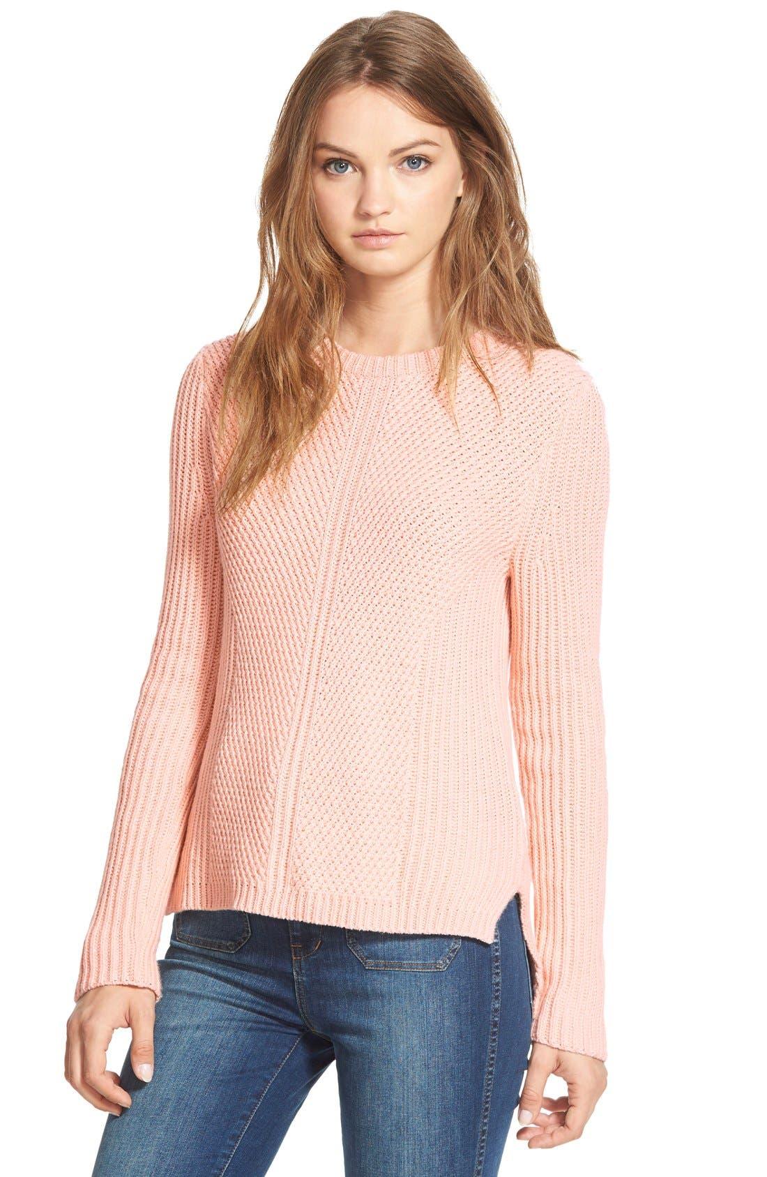 Main Image - Madewell 'Holcomb' Texture Sweater