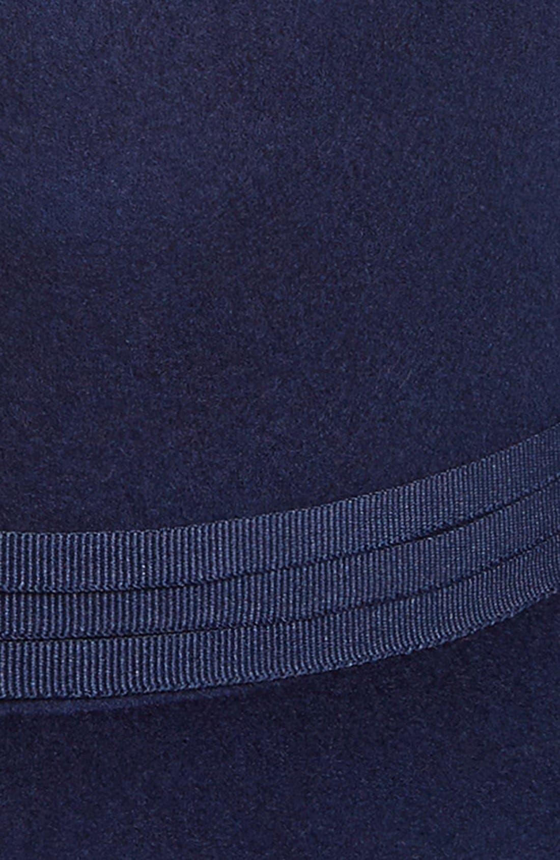 Alternate Image 2  - Brixton'Magdalena' Wide Brim Wool Felt Hat