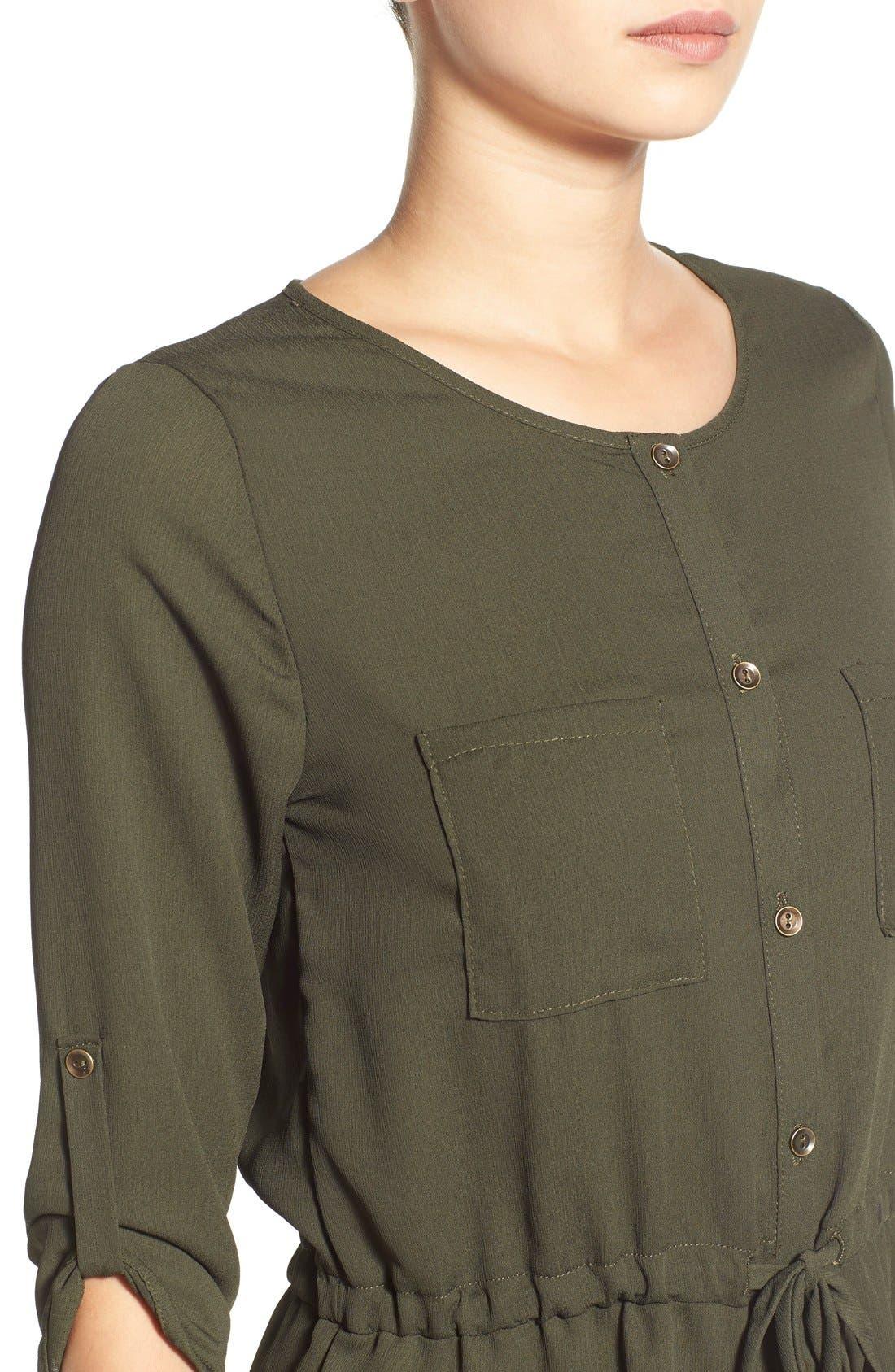 Alternate Image 4  - jella c. Henley Shirtdress